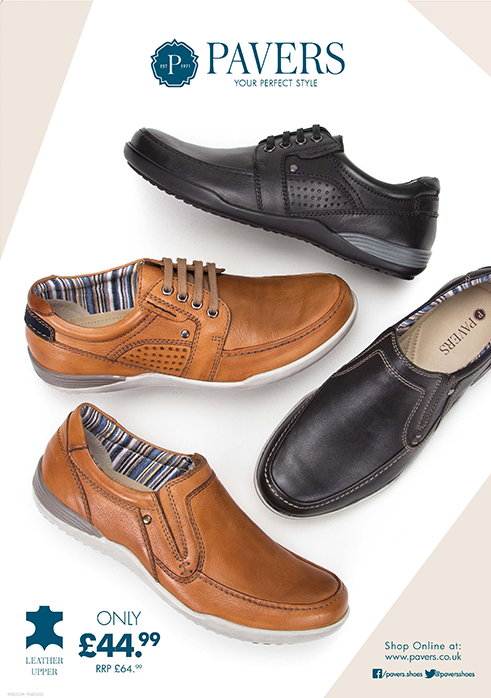 Pavers Comfort Shoes Ladies